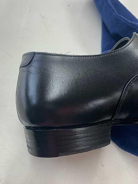 BEAMS紳士靴かかとのキズアフター