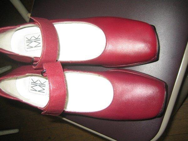 ミッシェルクラン婦人靴のスレ修復アフター
