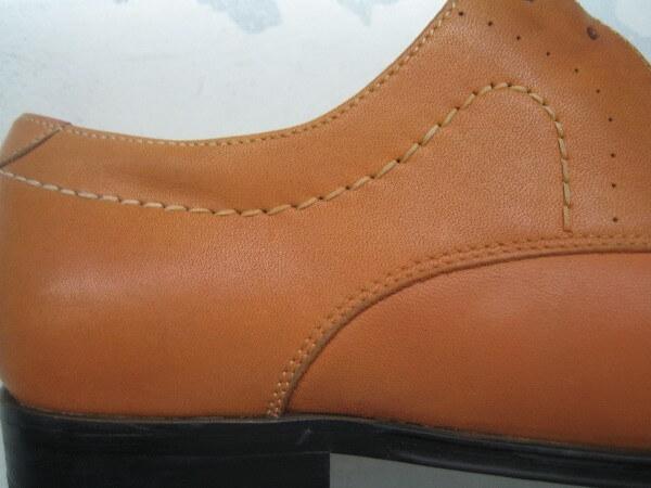 紳士革靴クリーニング・インキングアフター2