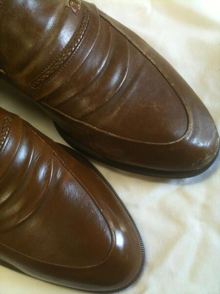 マドラス紳士革靴クリーニング・磨きビフォーアフター2
