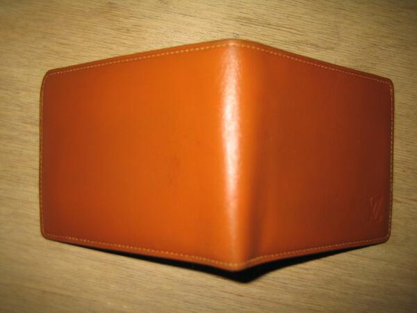 イブサンローラン二つ折りレザー財布アフター