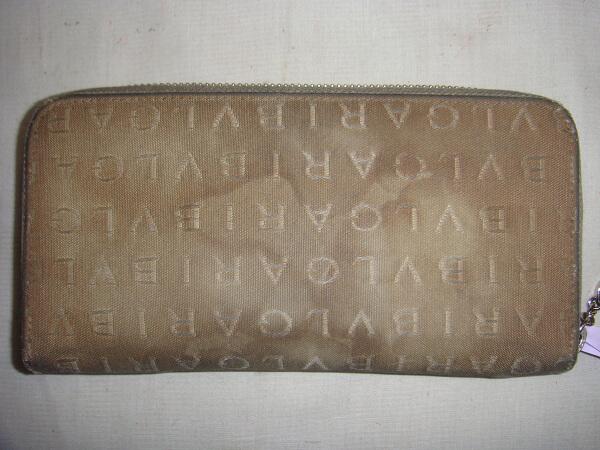ブルガリ長財布ビフォー1
