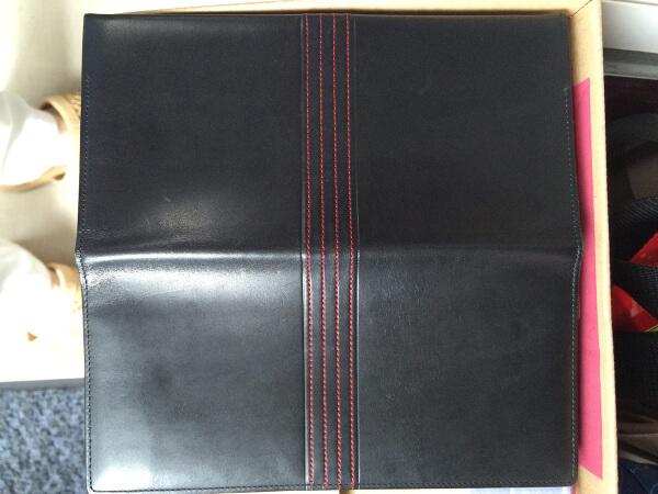 ポールスミスレザー財布のカビ染みアフター