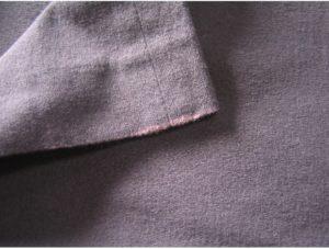 パンツの塩素による色抜け修復