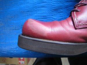 ヴィヴィアンウェストウッド婦人靴のスレ修復