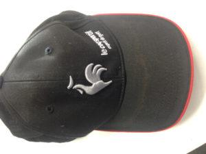 ルコックスポルティフのキャップ・帽子の汗染み